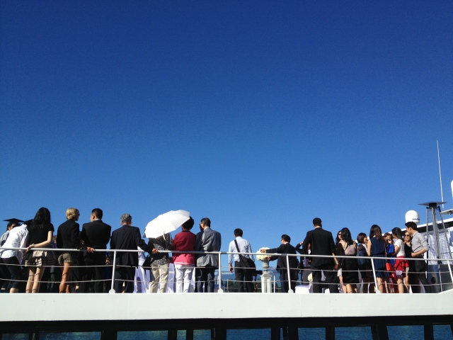 The Wedding Yacht - Sky Deck