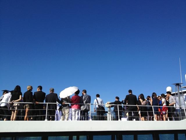 The Wedding Yacht - Sky Deck